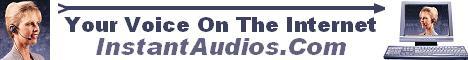 InstantAudios.com Banner