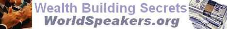 World Speakers Association Banner